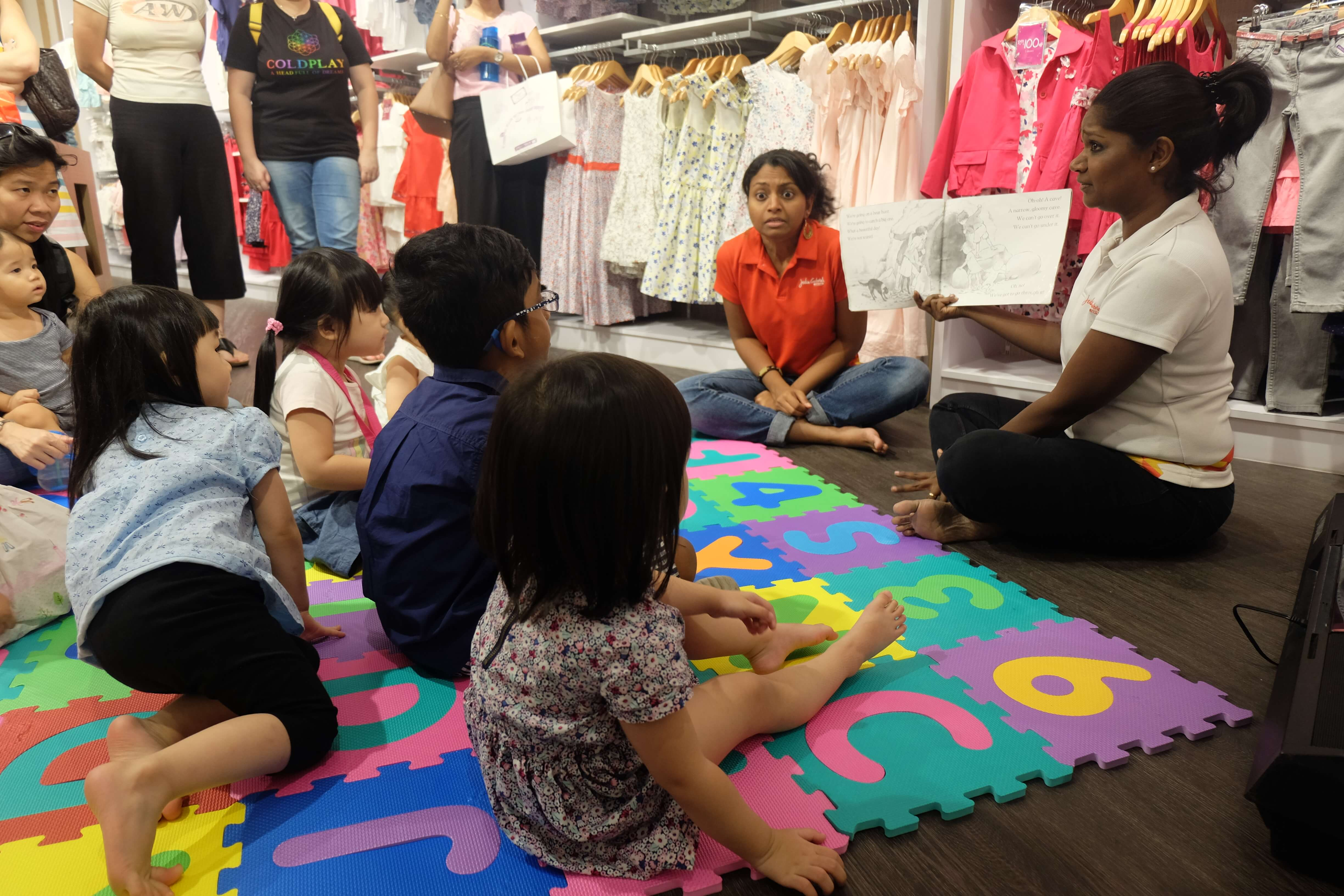 Storytelling session : March 2019
